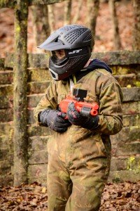 Childrens paintball Harlow