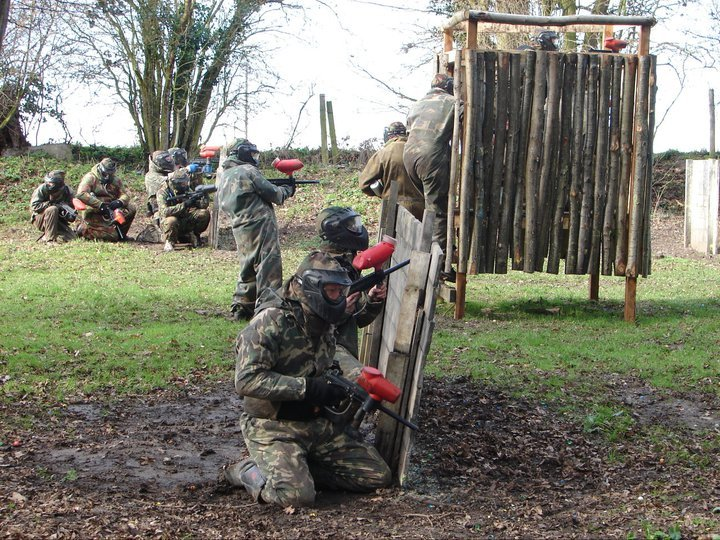 Paintballing In Bishops Stortford Childrens Paintball