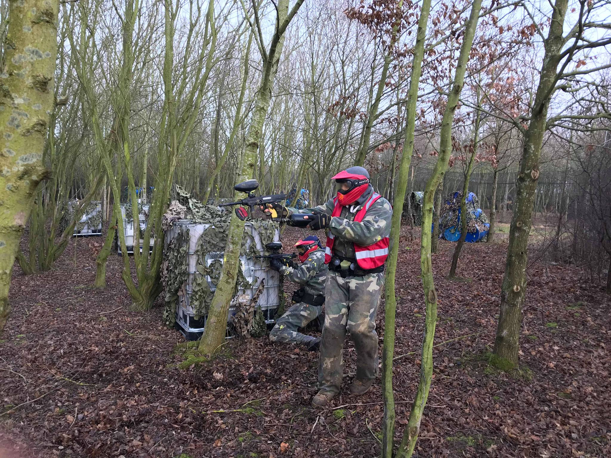 Paintball parties in Essex
