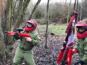 Kids Paintball Basildon