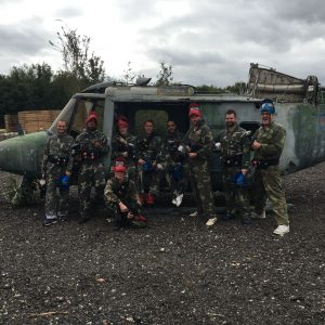 Southend Casino on a Corporate paintball day at the Splatoon site