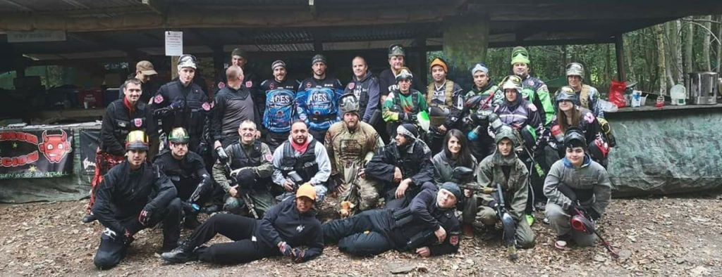 Walk On paintball at Warren Wood